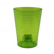Эльба Зеленая 1,6 литра, горшок для орхидей