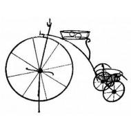 М 64 Велосипед подставка на 2 горшка