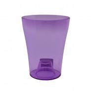 Тиса Фиолетовая 1.5 литра, горшок для орхидей.