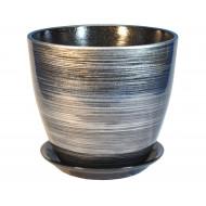 ЭК 04/1 горшок керамический с поддоном