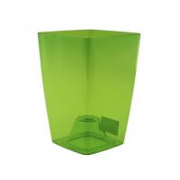 Сильвия Зеленая 1,9 литра, горшок для орхидей