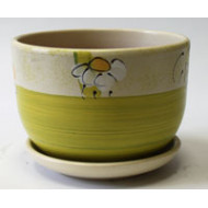Горшок для цветов с поддоном 4151.1/4-16