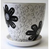 Горшок для цветов с поддоном 4156/2-16