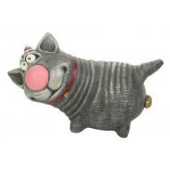 Котик с бубенчиками Садовая фигура