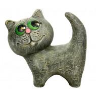 Котенок однотонный Садовая фигура