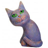 Лунный кот цветной Садовая фигура