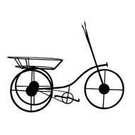 М 58 Велосипед малый подставка на 1 горшок